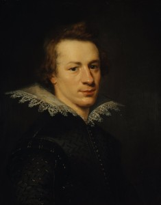 William Drummond of Hawthornden, attributed to Abraham van Blijenberch