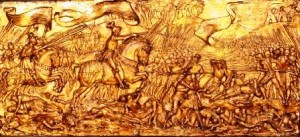 The Battle of Flodden, by Edward Burne-Jones