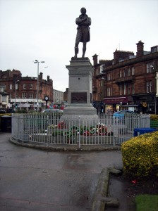 Burns Statue Square, Ayr