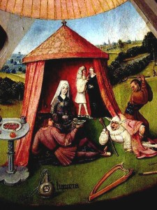 'Lust' by Hieronymus Bosch