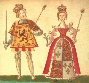 Joan Beaufort and James I