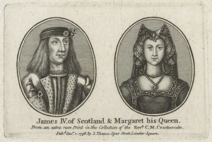 King James IV of Scotland and Queen Margaret, published by John Thane