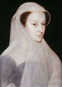 Mary Queen of Scots, in mourning