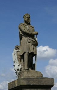 Statue of Robert the Bruce, Stirling Castle