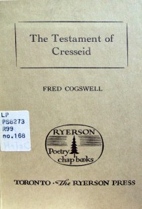 The Testament of Cresseid, adapted by Fred Cogswell