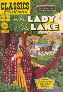 Illustrated version of Scott's 'The Lady of the Lake'