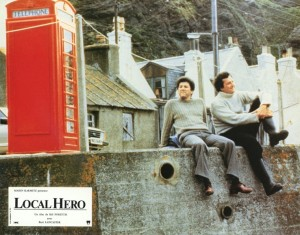 Poster of the film, 'Local Hero'