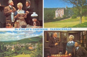 Postcard from 'Tannochbrae' (Callandar), the setting of 'Dr Finlay's Casebook'