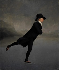 Rev Dr Robert Walker, Skating on Duddingston Loch, by Henry Raeburn
