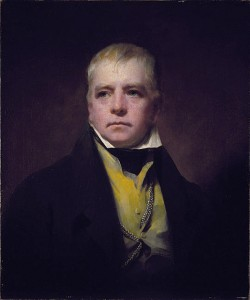 Portait of Sir Walter Scott