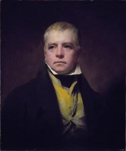 Portait of Sir Walter Scott