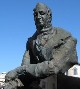 Statue of John Galt, Guelph, Ontario